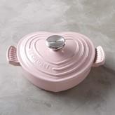 Le Creuset Cast-Iron Heart-Shaped Dutch Oven, 1 Qt.