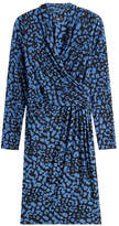 Steffen Schraut Printed Wrap Dress