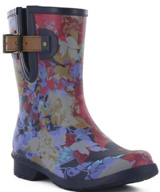 Chooka Rain Dot Mid Boot