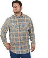 Stanley Men's Plaid Heavyweight Flannel Button-Down Shirt