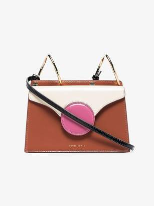 Danse Lente Multicoloured Phoebe Mini Patent Leather Crossbody Bag