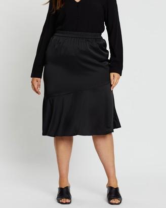 Vero Moda Plus Important Calf Skirt