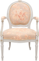 One Kings Lane Vintage Louis XVI-Style Rose Fauteuil