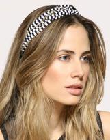 ASOS Knotted Striped Jersey Hairband