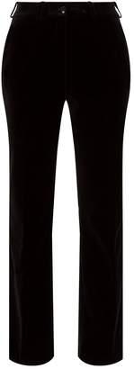 Etro Velvet Cigarette Trousers