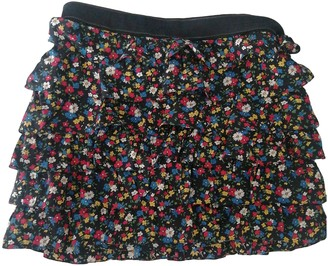 Luella Multicolour Silk Skirt for Women