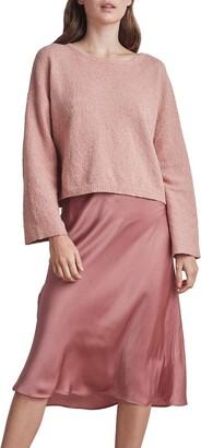 Velvet by Graham & Spencer Women's Cotton Boucle Sweater
