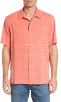 Tommy Bahama Men's 'Geo-Rific Jacquard' Original Fit Silk Camp Shirt