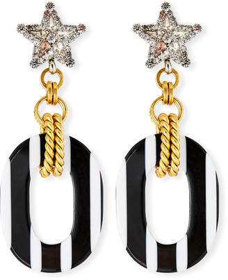 Elizabeth Cole Henri Dangle Earrings