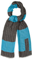 Lisa Perry Multicolor Striped Scarf w/ Tags