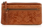 The Sak Sanibel Floral-Embossed Wallet