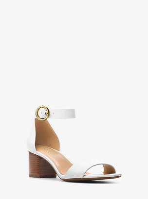 Michael Kors Lena Leather Sandal