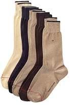 Tommy Hilfiger Men's 5-Pack Solid Dress Socks