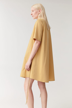 Cos A-Line Collared Shirt Dress