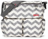 Skip Hop Infant 'Dash Signature' Messenger Diaper Bag - Grey