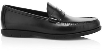 To Boot Tribeca Leather Penny Loafers