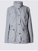 M&S Collection Jacquard Anorak Jacket with StormwearTM