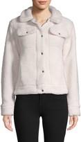 C&C California Long-Sleeve Faux Fur Jacket
