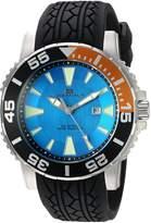 Oceanaut Men's OC2914 Marletta Analog Display Quartz Black Watch