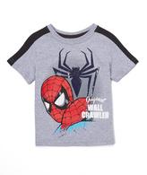 Children's Apparel Network Gray Spider-Man 'Original Wall Crawler' Tee - Toddler