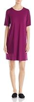 Eileen Fisher Short Sleeve Crewneck Dress