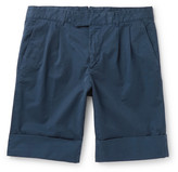 Boglioli - Stretch-cotton Shorts
