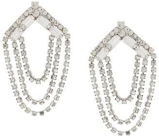 Susan Caplan Vintage 1980's chandelier earrings