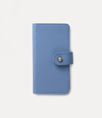 Vivienne Westwood Victoria Flap Iphone Case Light Blue - 7/8