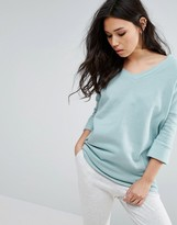 Noisy May Deep V Oversize Sweatshirt