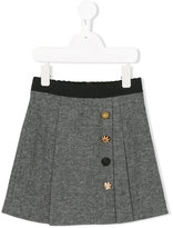 Dolce & Gabbana herringbone skirt - kids - Cotton/Viscose - 4 yrs