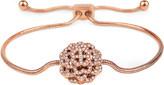 Folli Follie Santorini Flower rose gold-plated bracelet