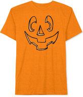 JEM Men's Carved Jack-O'-Lantern Pumpkin Halloween T-Shirt