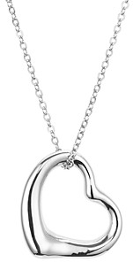 Bloomingdale's Open Heart Pendant Chain Necklace, 16 - 100% Exclusive