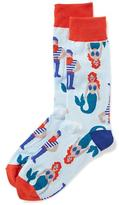 Old Navy Printed Trouser Socks for Men