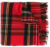 we11done oversized plaid scarf