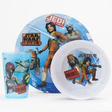 Zak Designs Star Wars Rebels 3-pc. Feeding Set