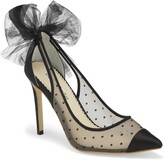Bella Belle Matilda Mesh Pointed Toe Pump