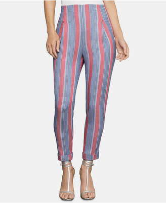BCBGMAXAZRIA Striped Ankle Pants