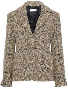 Sonia Rykiel Frayed Boucle-tweed Blazer