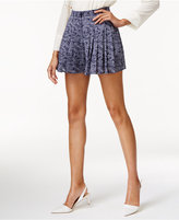 MICHAEL Michael Kors Willow Printed Pleated Shorts