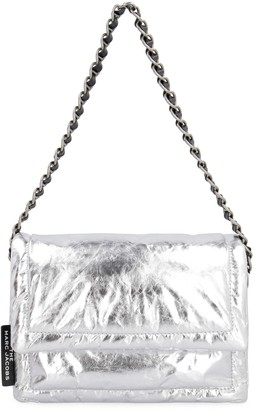 Marc Jacobs The Pillow Metallic Leather Shoulder Bag