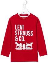 Levi's Kids long sleeve logo T-shirt
