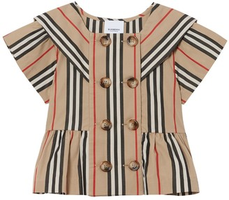 Burberry Icon Striped Cotton Shirt