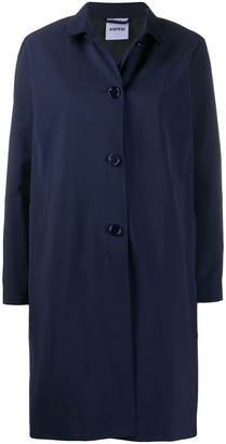 Aspesi Mostacciolo button-down car coat