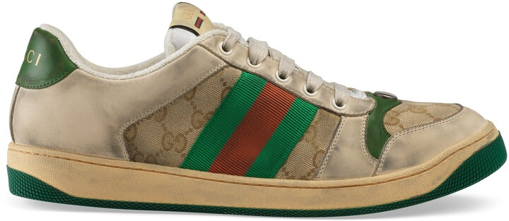 Thumbnail for your product : Gucci Men's Screener GG sneaker