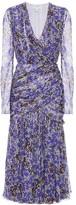 Giambattista Valli Floral silk midi dress