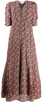 Antik Batik floral print maxi dress