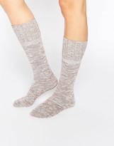 Asos Marl Slouch Sock