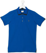 Armani Junior teen logo polo shirt - kids - Cotton - 14 yrs