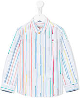 Paul Smith rainbow striped shirt